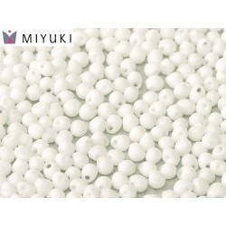Drops  Miyuki  3,4 mm  Opaque White  - 10 g