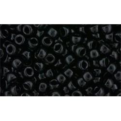 Matubo Beads   8/0  Jet -  10 g