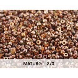 Matubo Seed  Beads   8/0 Topaz Capri Gold -  10 g