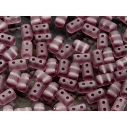 Rulla  Beads  3x5 mm Amethyst Matted -  10 g
