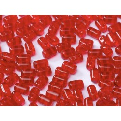 Rulla  Beads  3x5 mm  Red  -  10 g
