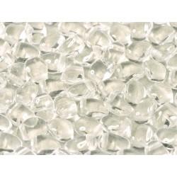 Tulip Petals  4x6 mm Crystal -  40 pcs