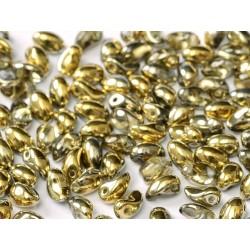 Tulip Petals  4x6 mm Crystal Amber -  40 pz