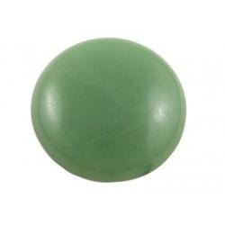 Green Aventurine Round Cabochon  26  mm   MediumAquamarine -  1 pc