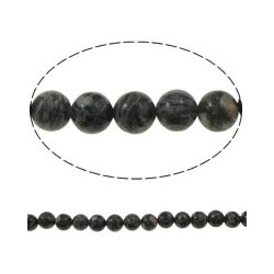 Jasper Picasso Round Beads 8 mm  - 1 Strand about 38-40 cm long