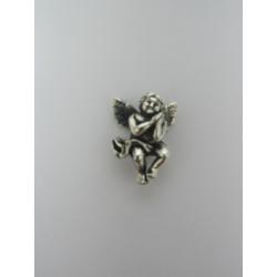 925 Sterling Silver Pendant Praying Angel  20x15 mm