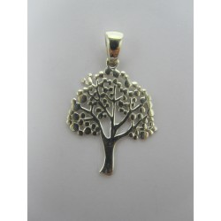 925 Sterling Silver Pendant Big Tree  29x22  mm
