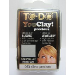 To-Do YouClay 063 Silver Precious  56 g