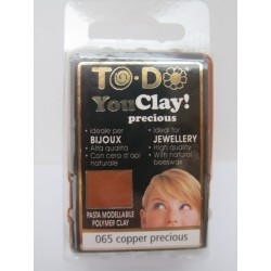 To-Do YouClay 065 Copper Precious  56 g