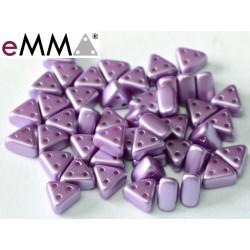 eMMA® Bead  3 x 6 mm Pastel Lila  - 5  g
