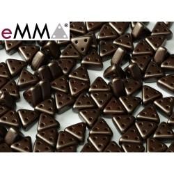 eMMA® Bead  3 x 6 mm Pastel Dark Brown  - 5  g