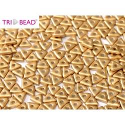 Perline Tri-Bead  4 mm Aztec Gold  - 5  g