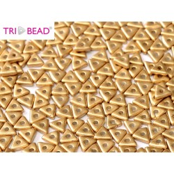 Tri- Bead  4 mm Aztec Gold  - 5  g