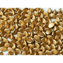 Pinch Beads  5x3 mm Aztec Gold - 10 g