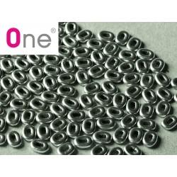 One® Bead 1,5 x 5  Aluminium Silver  - 5  g