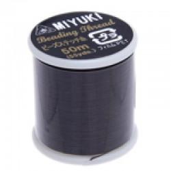 Miyuki Thread Brown - 1 Spool  50 m