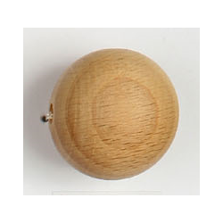 Wooden Round Bead 25 mm - 5 pcs