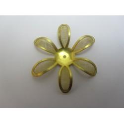 Fiore  Rete Ottone  mm    - 1 pz