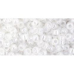 Rocailles Toho 8/0 Ceylon Snowflake