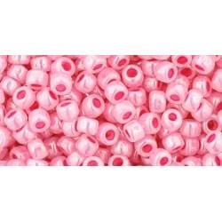 Rocailles Toho 8/0 Ceylon Impatiens Pink