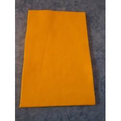 Felt 20x30 cm,  Dark Yellow  - 1 pc