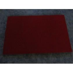 Panno Lenci  20x30 cm  Rosso Scuro  - 1  pz