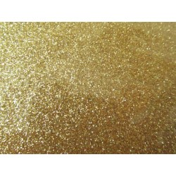 EVA Foam 20x30 cm Gold Glitter  - 1 Sheet