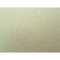 EVA Foam 20x30 cm White-Rose  Glitter  - 1 Sheet