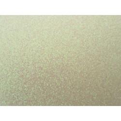 Foglio Mousse Gomma Crepla  20x30 cm Bianco Rosato  Glitter - 1  pz