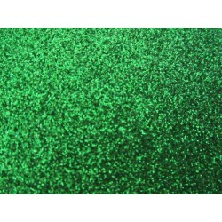 EVA Foam 20x30 cm Green Glitter  - 1 Sheet