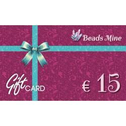 Gift Card 15 Euros