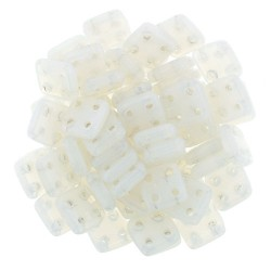 Perline QuadraTile  6 mm Alabaster  - 5 g
