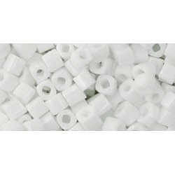 Toho Cubes 3 mm Opaque White