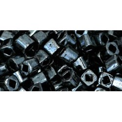 Toho Cubes 3 mm Metallic Hematite