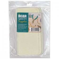 Bead Mat 20x20 cm  Cream - 2 pcs