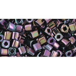 Toho Cubes 3 mm Metallic Iris Purple