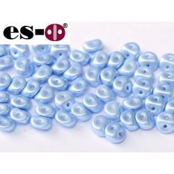 Es-O Beads 5 mm Pastel Light Sapphire  - 5 g