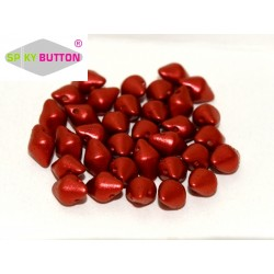 Spiky Button®  4,5x6,5 mm Lava Red  -  20 Pz