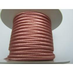 Soutache Braid  4 mm Pink Salmon  - 2  m