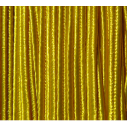 Soutache Braid  4 mm  Yellow - 2  m