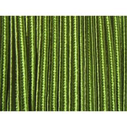Soutache Braid  4 mm  Green  - 2  m