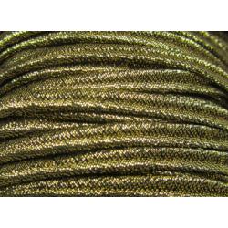 Cordoncino Soutache  4 mm  Dorato   - 2 m