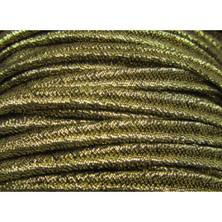 Soutache Braid  4 mm  Gold   - 2  m
