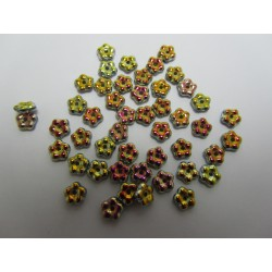 Forget-me-not  5 mm  Crystal  Full Marea   - 50 pcs
