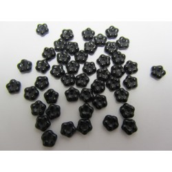 Forget-me-not  5 mm   Jet   - 50 pcs