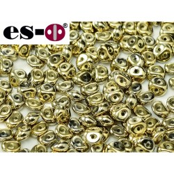 Es-O Beads 5 mm Crystal Amber Full  - 5 g