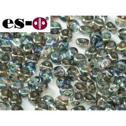 Es-O Beads 5 mm Crystal Graphite Rainbow - 5 g