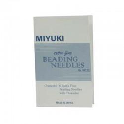 Miyuki  Beading Needles  Extra Fine - 6 pcs