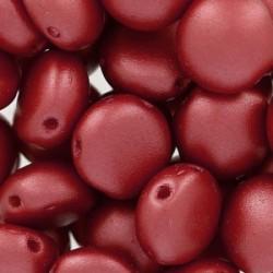 Candy Beads  8  mm Pastel Dark Coral  - 20 pz