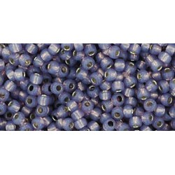 Toho Round 11/0 Silver-Lined Milky Lavender